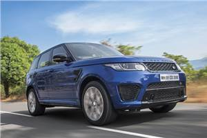 Range Rover Sport SVR review, test drive