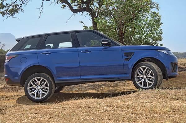 Range Rover Sport Svr Review Test Drive Autocar India