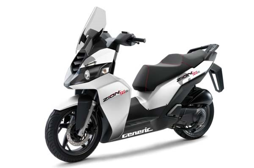 dsk benelli maxi scooter spied in india autocar india. Black Bedroom Furniture Sets. Home Design Ideas