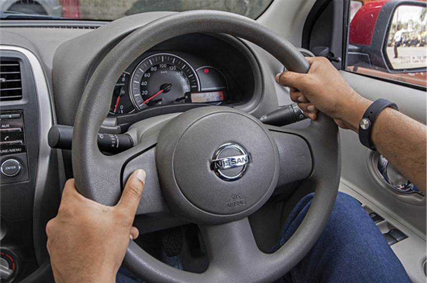 Steering is a breeze to use owing to its light nature and...