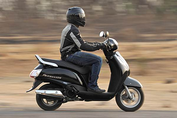 New Suzuki Access 125 review, test ride