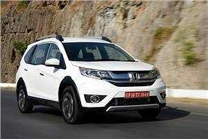 Honda BR-V India review, test drive