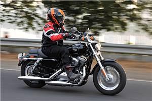 Harley Davidson 1200 Custom review, test ride