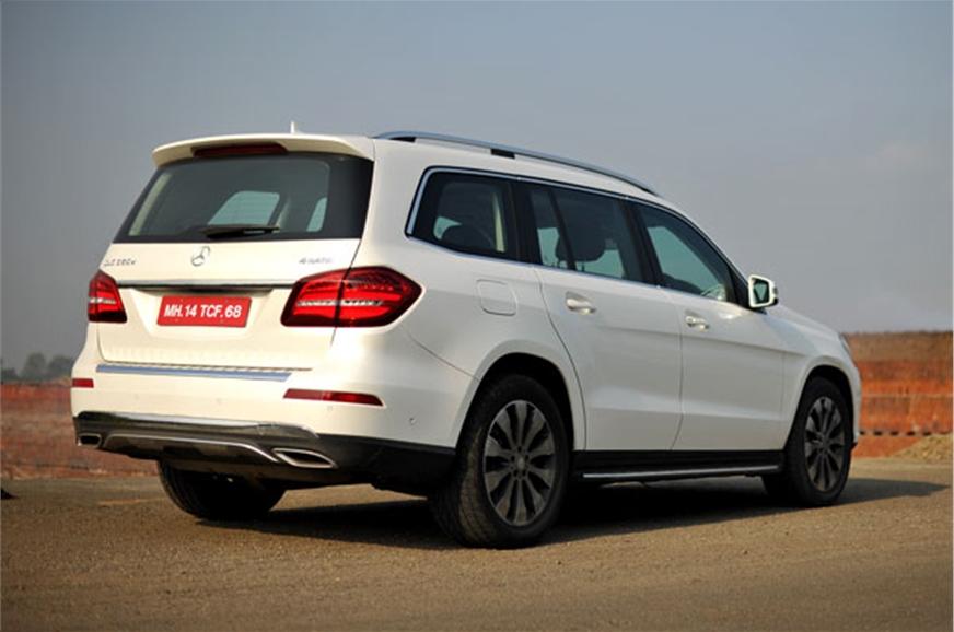 mercedes gls 350d review test drive autocar india. Black Bedroom Furniture Sets. Home Design Ideas