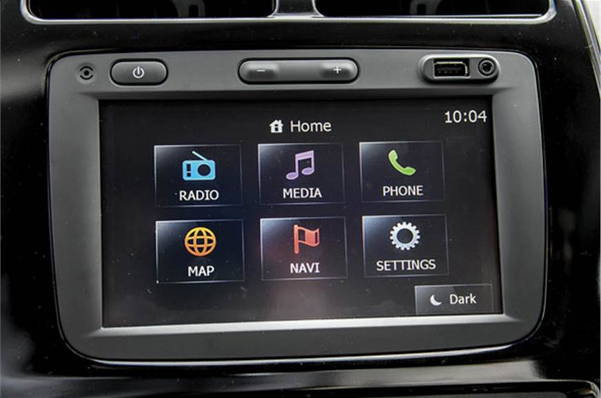 Touchscreen infotainment system with navigation a major d...