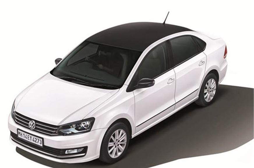 Volkswagen Polo Select Vento Celeste Launched Autocar India