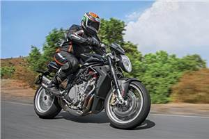 MV Agusta Brutale 1090 review, test ride