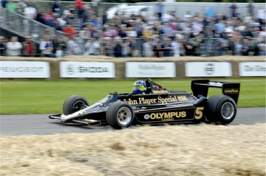 John Player Special liveried Lotus. Special indeed.