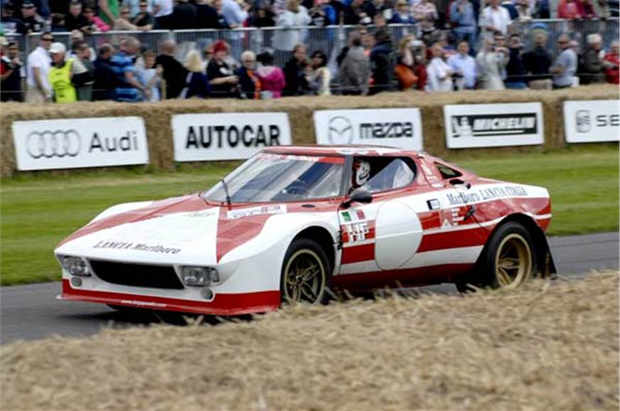 Lancia Stratos. What a sight...