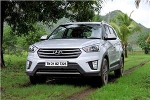 2016 Hyundai Creta 1.6 petrol AT review, test drive
