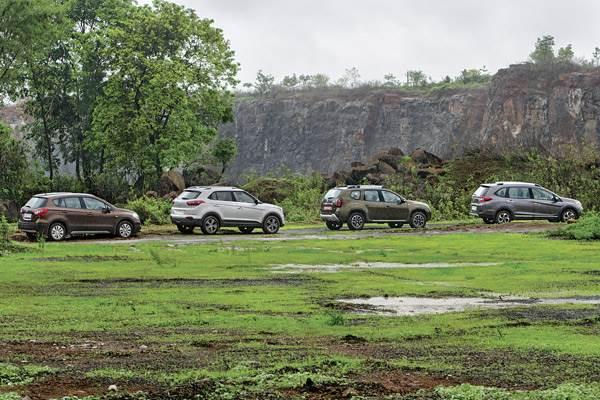 What Does Gti Stand For >> Honda BR-V vs Duster vs Creta vs S-cross comparison - Autocar India