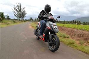 2016 Aprilia SR 150 review, test ride