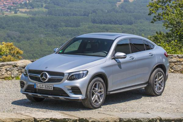 2016 Mercedes-Benz GLC Coupe review, test drive