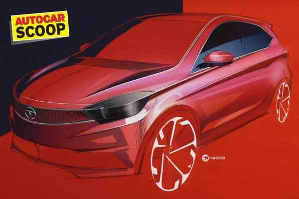 Tata Tiago pre-production sketch (for representation purpose).