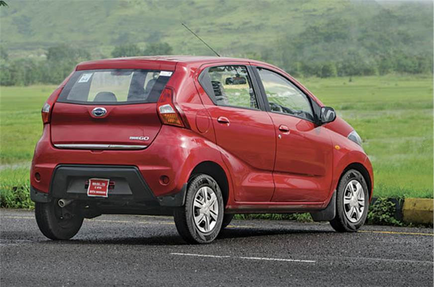 For its sub-three-lakh rupee price, the Redigo is very st...