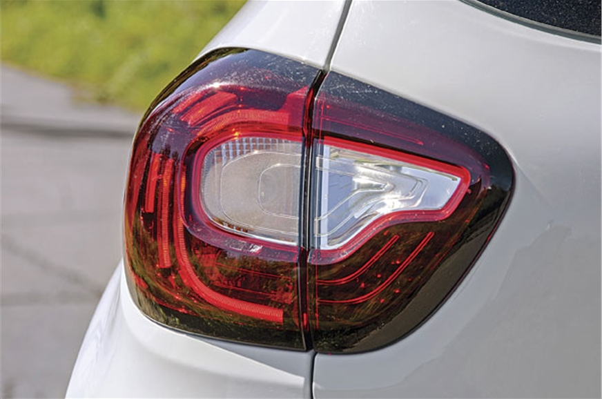 Compact tail-light cluster gets LED inserts as well.