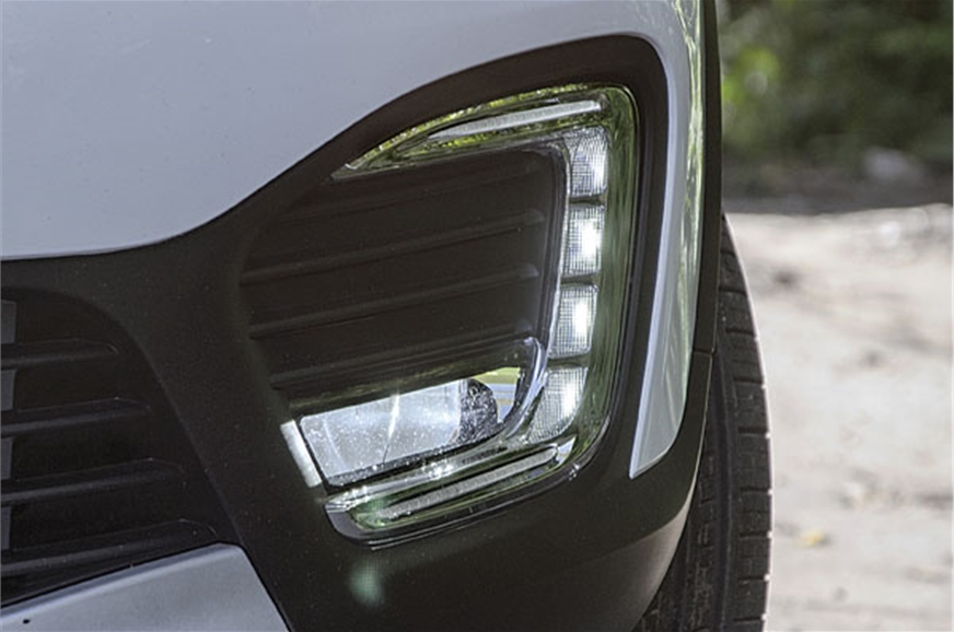 C-shaped LEDs get chrome surrounds, cornering lights.