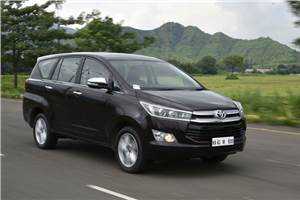 2016 Toyota Innova Crysta 2.7 petrol review, test drive