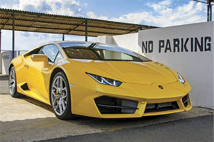 A Huracán can inspire a bit of disobedience in anyone.