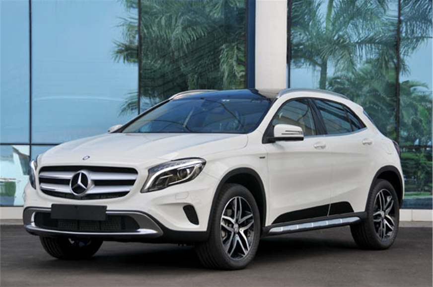 2017 mercedes gla 220d 4matic review test drive autocar for How long does it take to build a mercedes benz