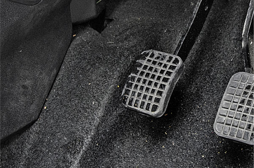 Unlike the Bolt, the Tiago gets a dead pedal.