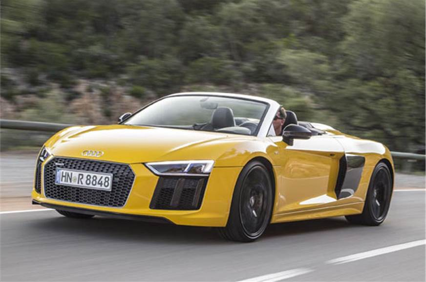 2016 audi r8 v10 spyder review price specifications mileage autocar india. Black Bedroom Furniture Sets. Home Design Ideas