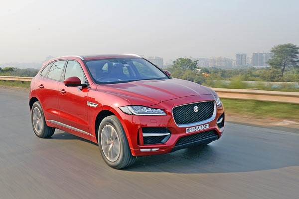2016 Jaguar F-Pace diesel India review, test drive