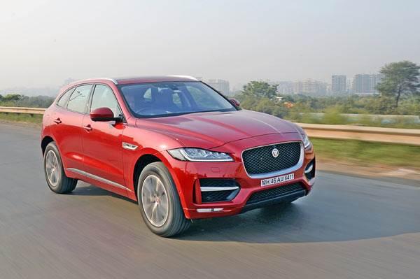2016 Jaguar F-Pace diesel India review, test drive