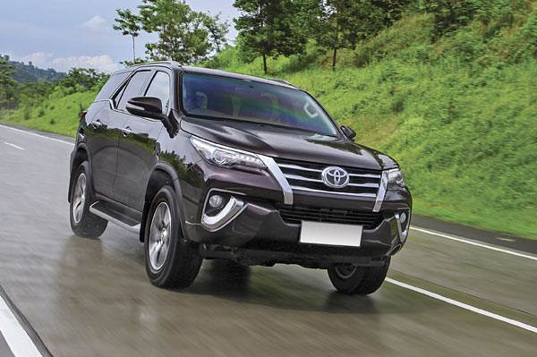 New 2016 Toyota Fortuner review, test drive
