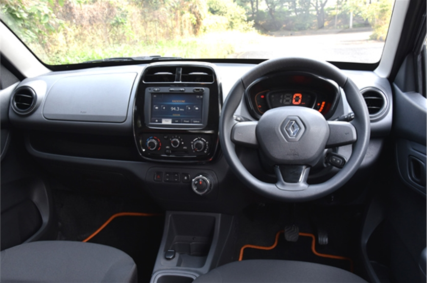 2016 renault kwid amt review price interior specifications mileage autocar india. Black Bedroom Furniture Sets. Home Design Ideas