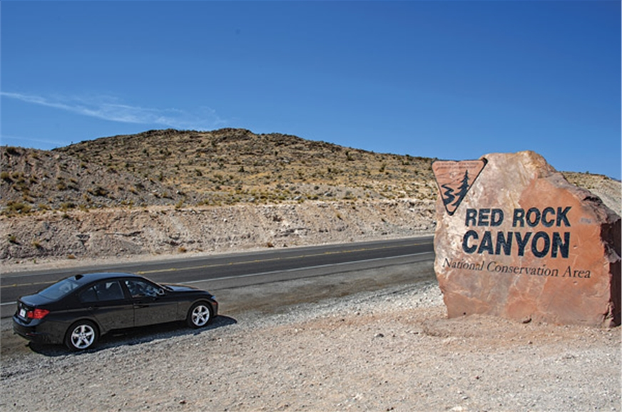 Just 26km from Las Vegas, Red Rock is an excellent area t...