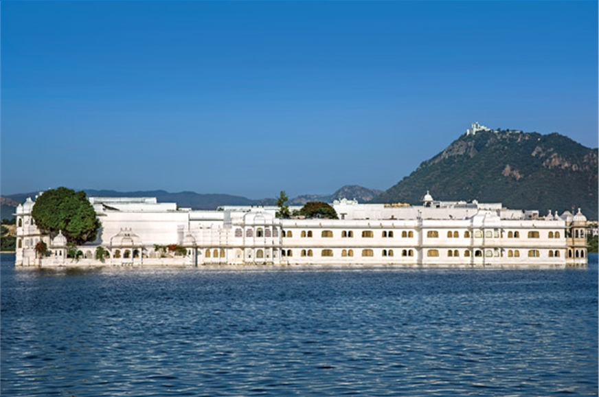 The Lake Palace in Udaipur was built as a 'pleasure palac...
