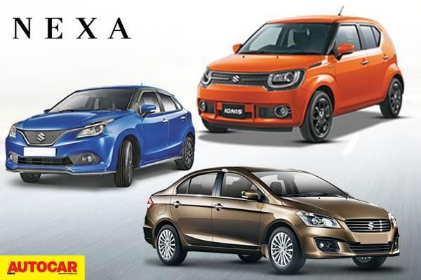 Three New Models For Nexa Early 2017 Autocar India