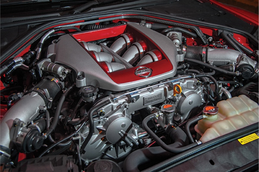 Hand-built 3.8L V6 pumps out 570hp and sings like a high-...