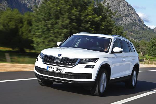 2017 Skoda Kodiaq review, test drive