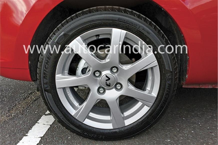 Low-rolling resistance tyres help range.