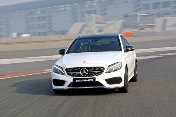 2017 Mercedes-AMG C 43 review, track drive