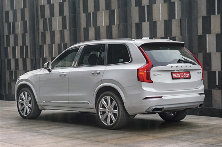 volvo xc90 t8 excellence review test drive autocar india. Black Bedroom Furniture Sets. Home Design Ideas