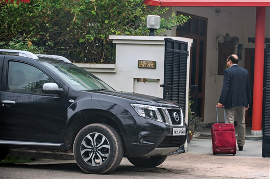 Sunil makes a surprise return home.