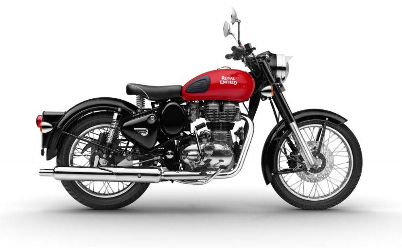 2017 Royal Enfield Classic 350 Gets Redditch Themed Paint