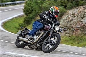 2017 Triumph Boneville Bobber review, test ride