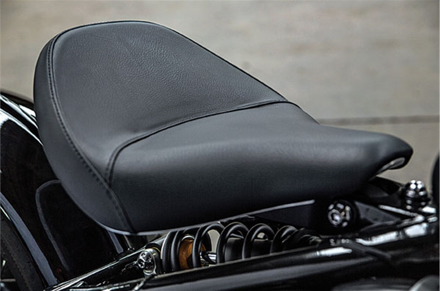 Seat position is adjustable.