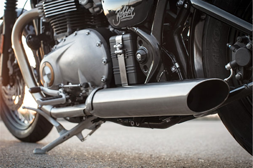 Sawed-off exhausts sound mental!