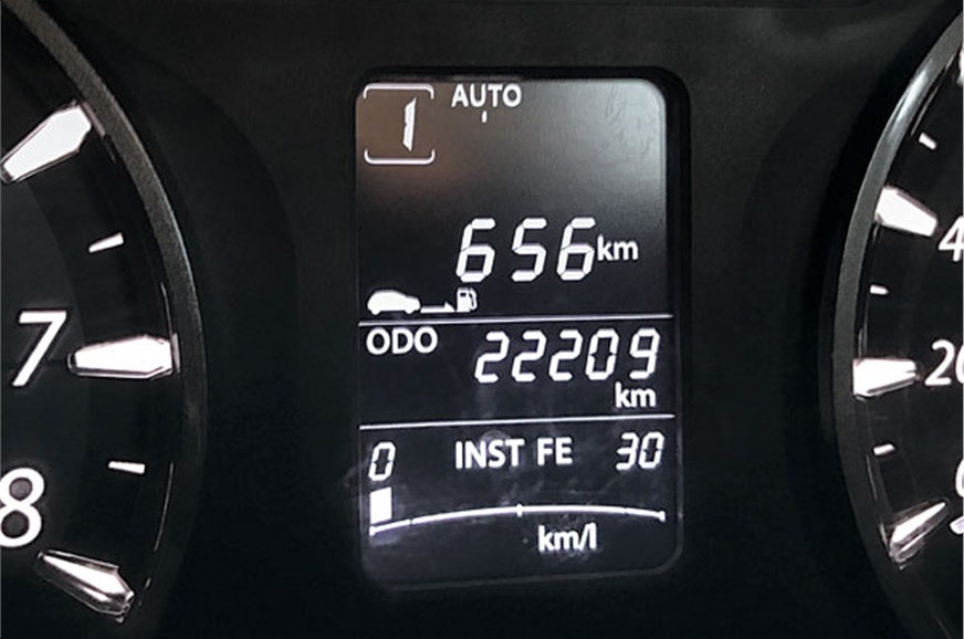 Good mileage means it does a fair distance on a tank of d...