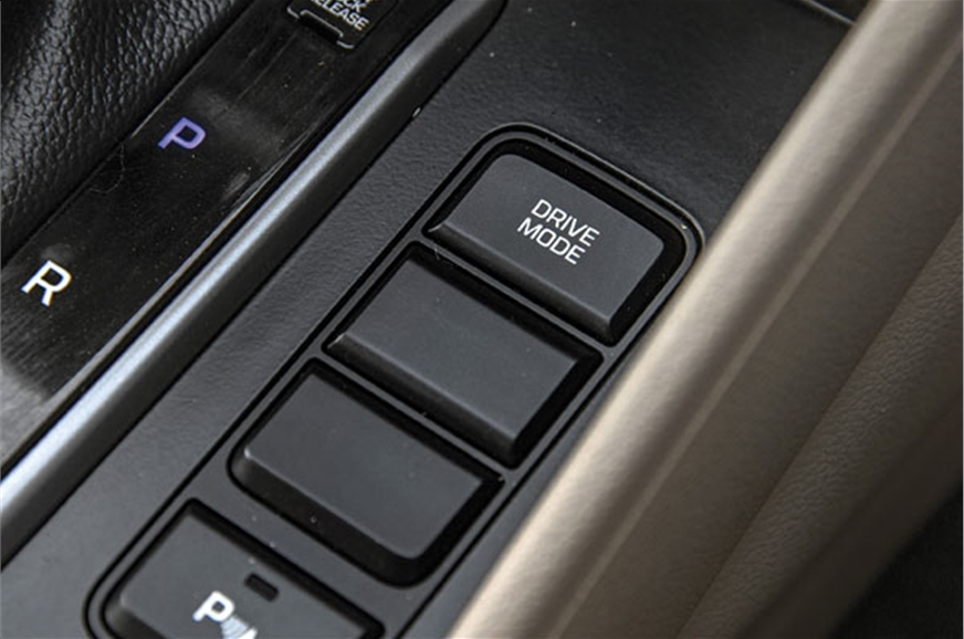 Eco, Sport and Normal drive mode selector on automatic ca...