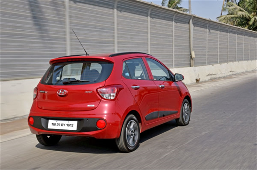 2017 hyundai grand i10 facelift review specifications interiors price images autocar india. Black Bedroom Furniture Sets. Home Design Ideas