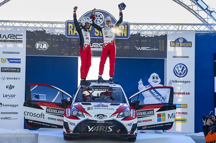 Latvala grabs Toyota's first WRC win since 1999