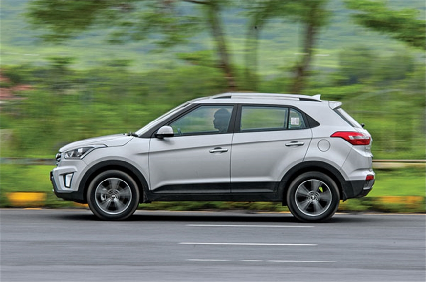 Soft suspension setup makes the Creta bob more than it sh...