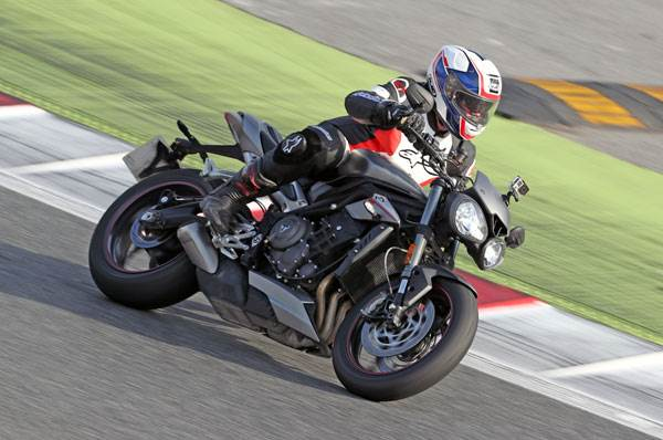 2017 Triumph Street Triple RS review, track ride