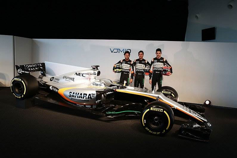 Force India unveils 2017 F1 challenger